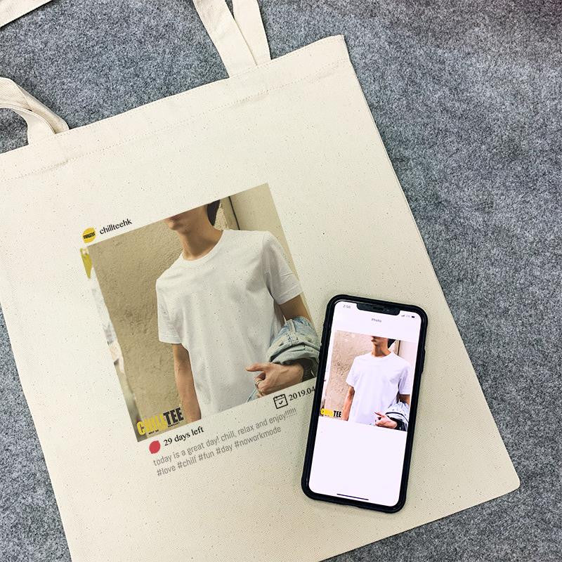 Chill Planner Canvas Totebag - ChillTee