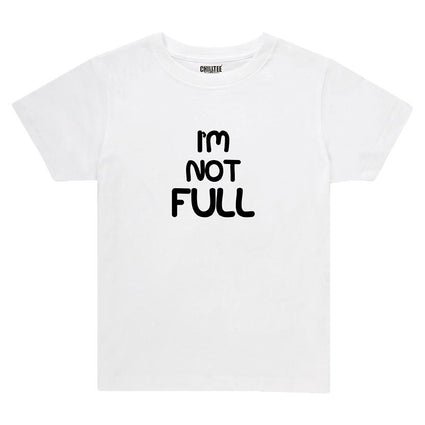 I'm Not - Adult&Kids T-shirt (White) - ChillTee