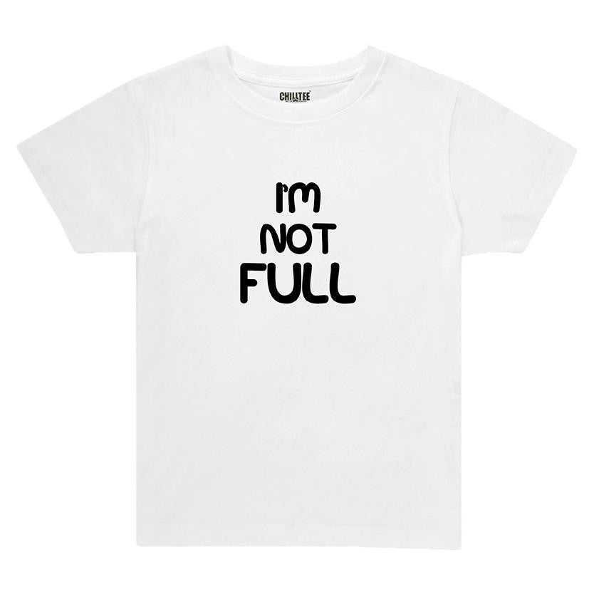 I'm Not - Kids T-shirt (White) - ChillTee