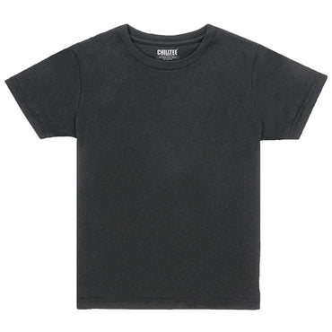 Kids Black Crew T-shirt - ChillTee