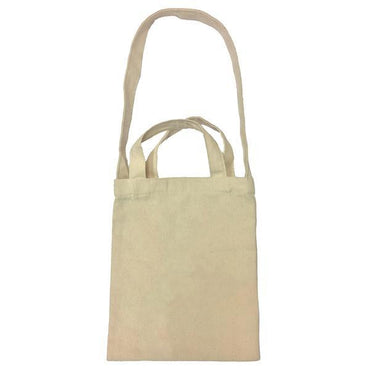 Front view of Mini Canvas Tote-bag