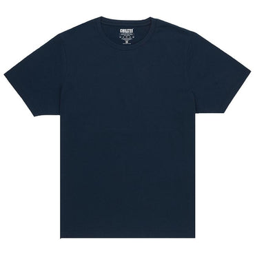 Unisex Navy Blue Crew T-shirt - ChillTee