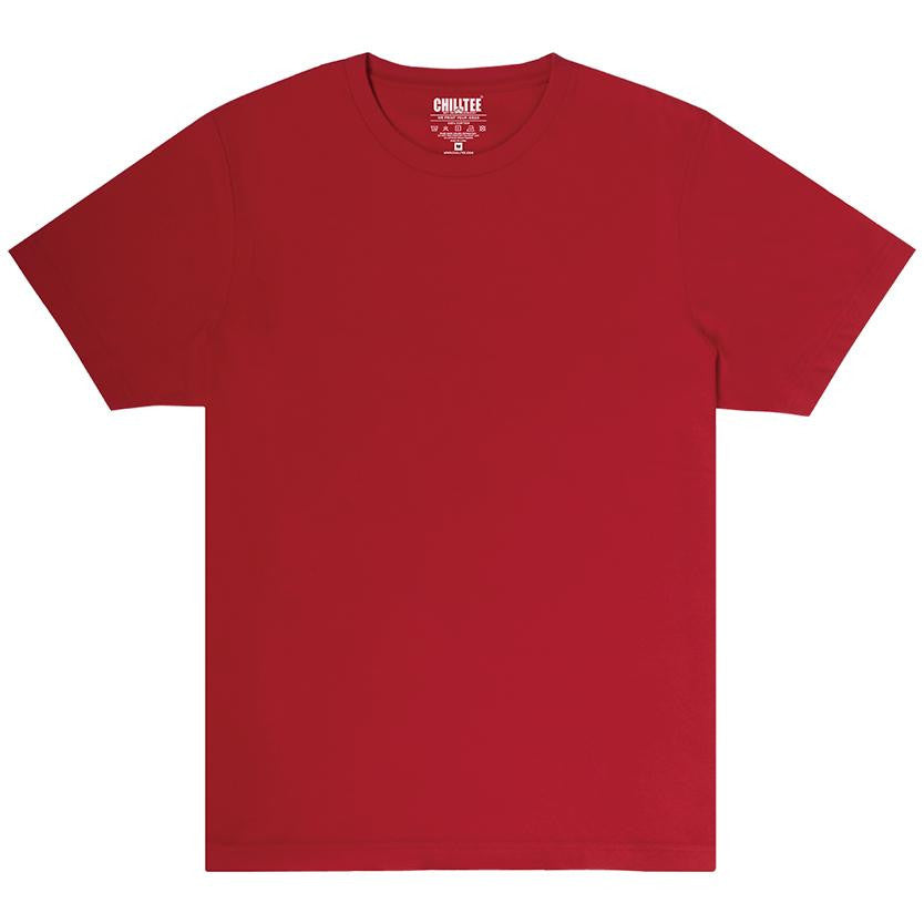 Unisex Red Crew T-shirt - ChillTee