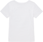 White Female Crew Tee
