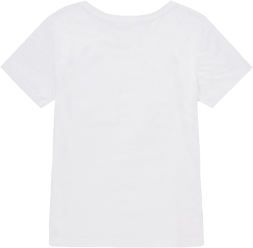 Women White Crew T-shirt - ChillTee