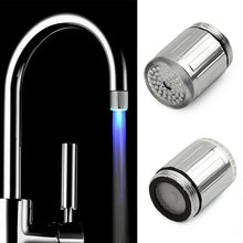 Load image into Gallery viewer, LED Water Faucet Light Colorful Changing Glow Shower Head Kitchen Tap Aerators