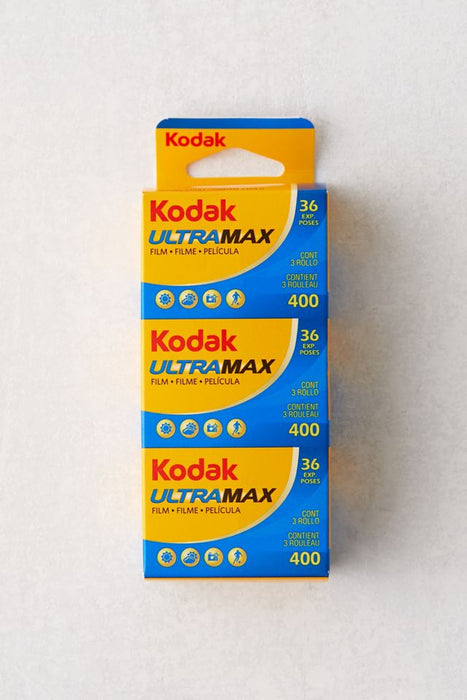 3 pack of KODAK Ultra Max 400 135-36