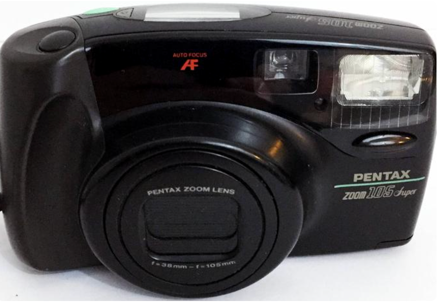 PENTAX Zoom 105 Super 35mm Point and Shoot Camera