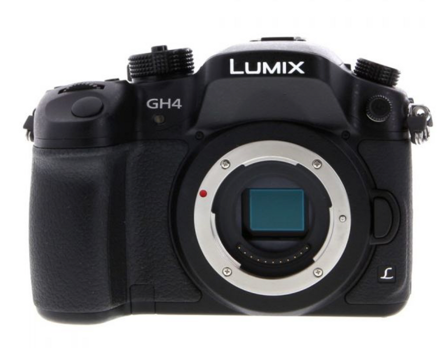 Panasonic Lumix GH4 Mirrorless Micro 4/3 Digital Camera - 1 Lens - Used - Like New