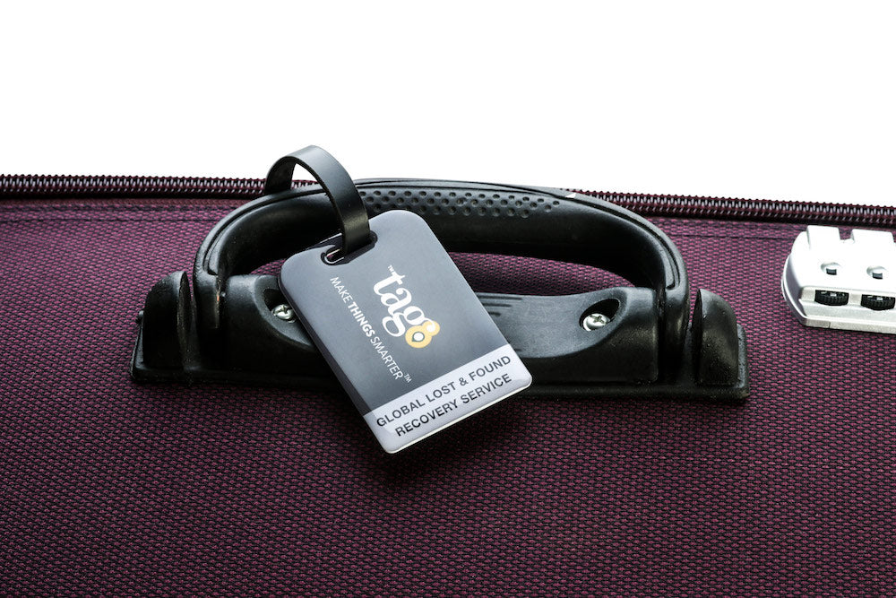 BAG TAG WITH NFC