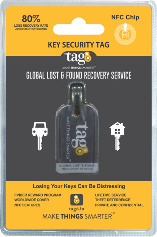 KEY TAG WITH NFC