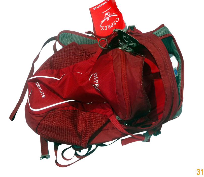 DAY LITE 13 LTRS BAG PACK (REAL RED)