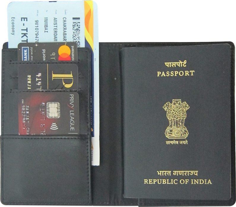 PASSPORT COVER WITH NFC
