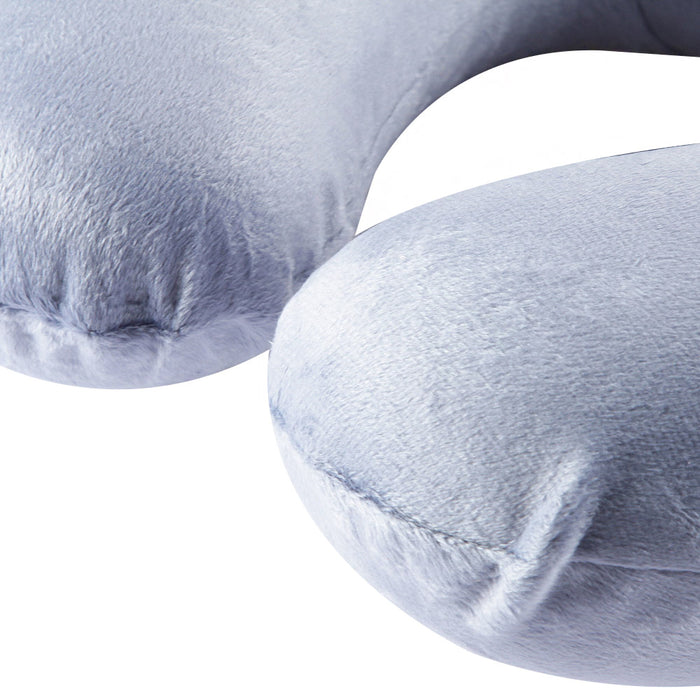 TRAVEL BLUE MEMORY FOAM PILLOW