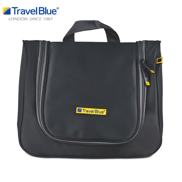 TRAVEL BLUE LUXURY BEAUTY CASE / TOILETRY BAG