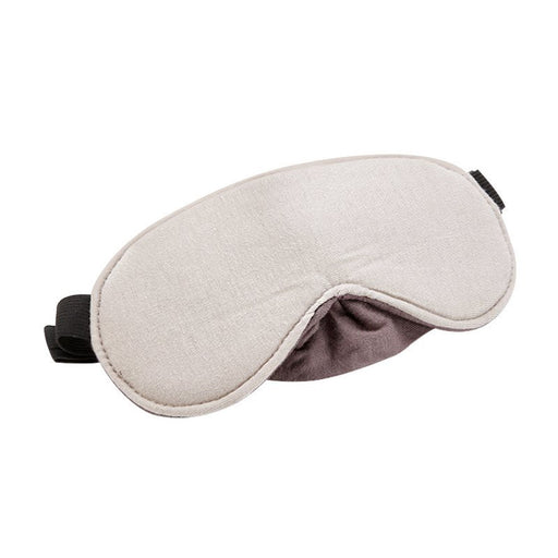 TRAVEL BLUE LUXURY EYE MASK GREY