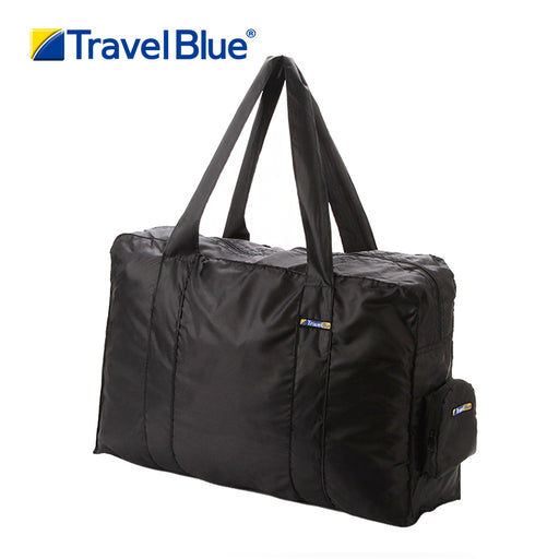 TRAVEL BLUE FOLDING CARRY BAG BLACK