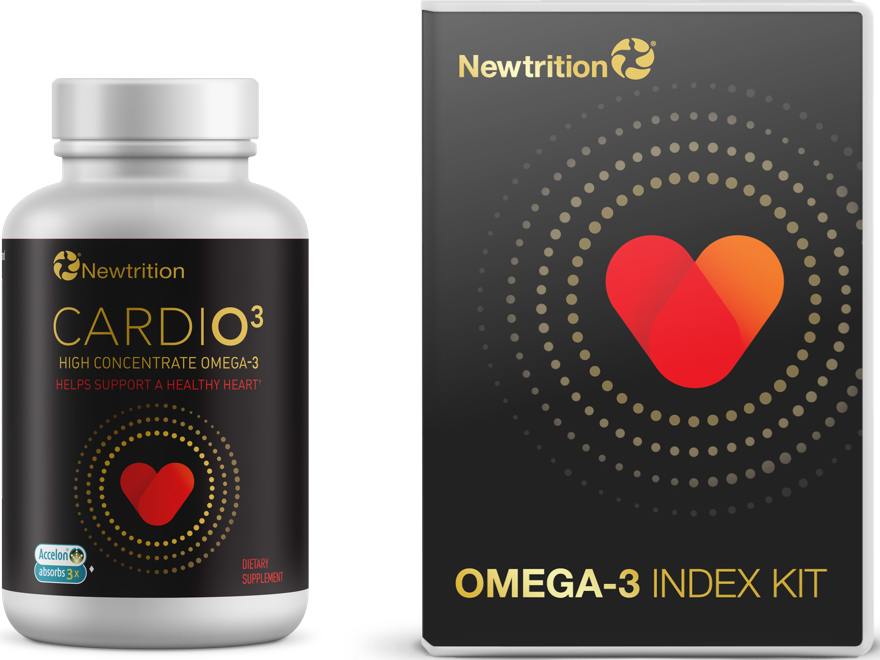 CARDIO<sup>3</sup> Omega-3 + Test Kit Bundle
