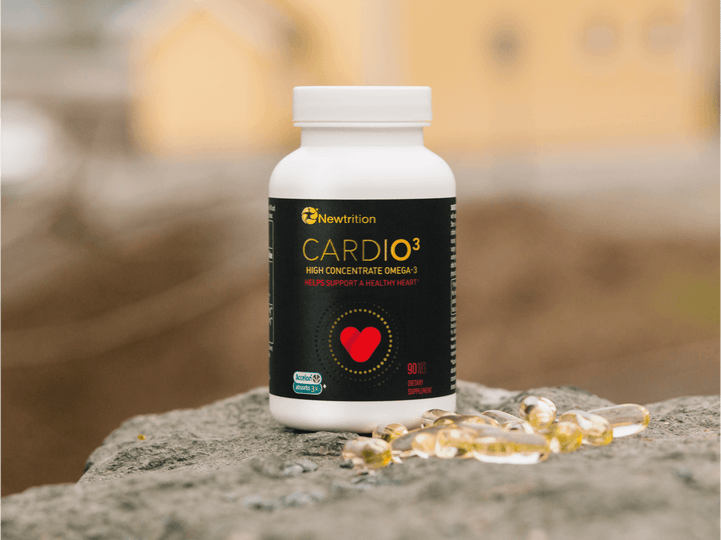 CARDIO³ Omega-3 + Test Kit Bundle