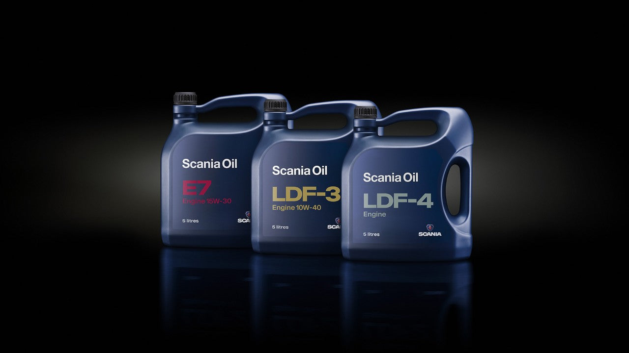 Scania Oil & Lubricants