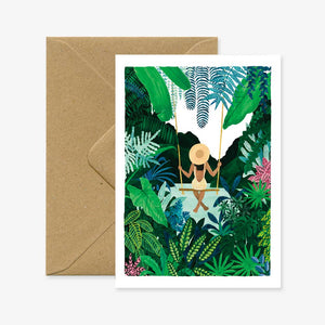 Plants + Swing Card