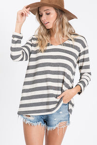 Sweet Sails Striped Top