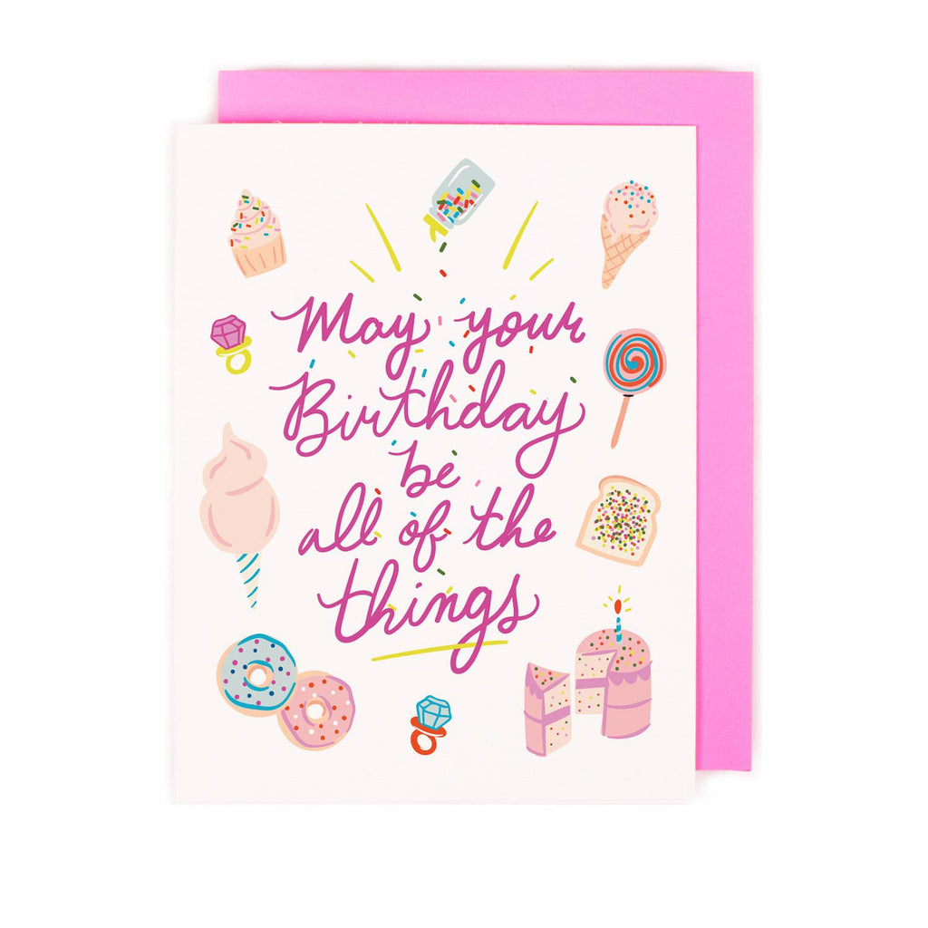 All the Things Birthday Card