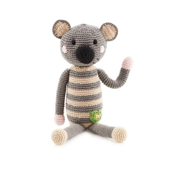 Fair Trade Knit Animal Rattles
