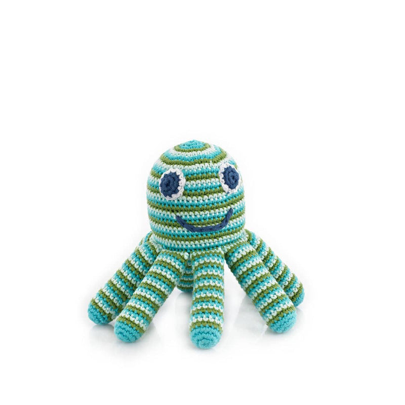 Green Octopus Rattle