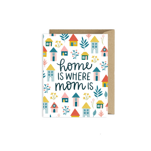 Home is Where Mom Is Card | Mother's Day Card