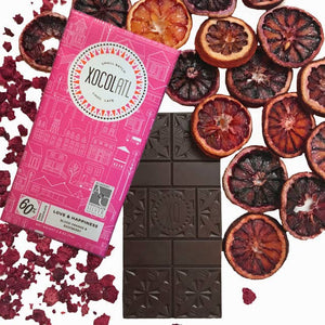 Vegan Small Batch Chocolate - Love and Happiness