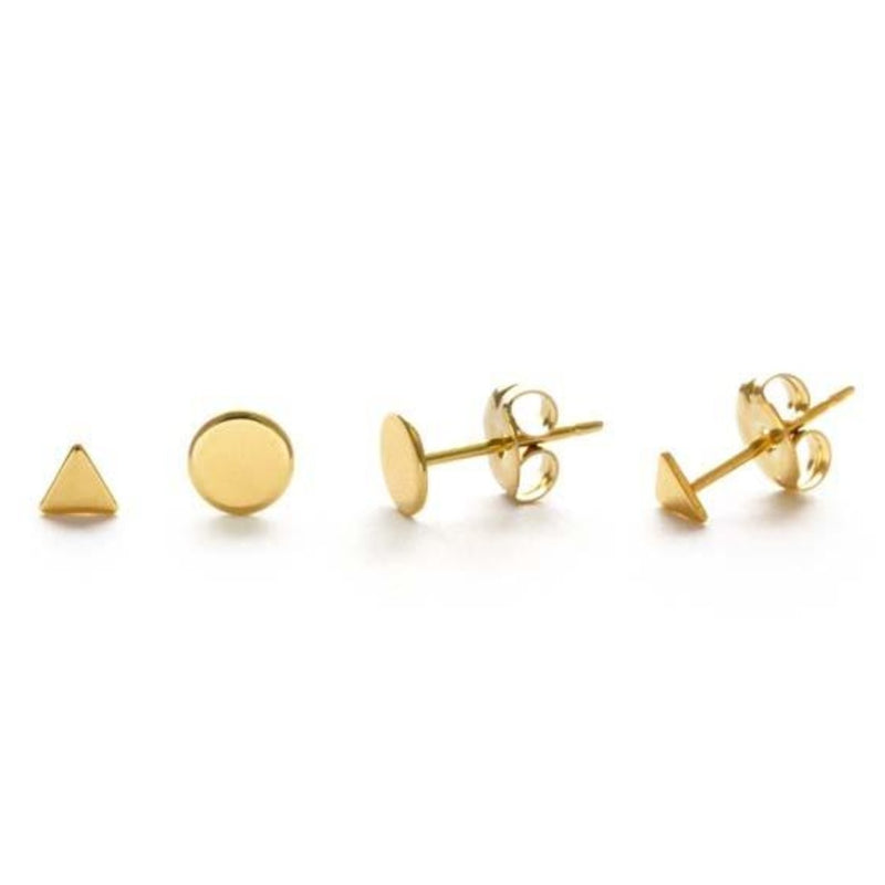 Gold Stud Combo Set