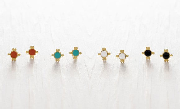 Miranda Studs- 2 colors
