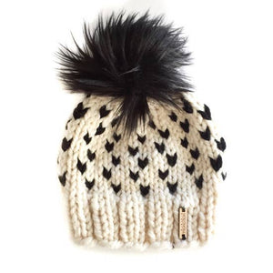 Negative Space Beanie - Adult