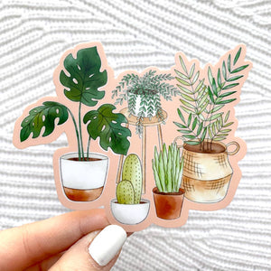 Plant Family Sticker