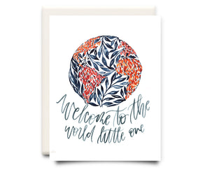 Welcome Little One | Newborn Card