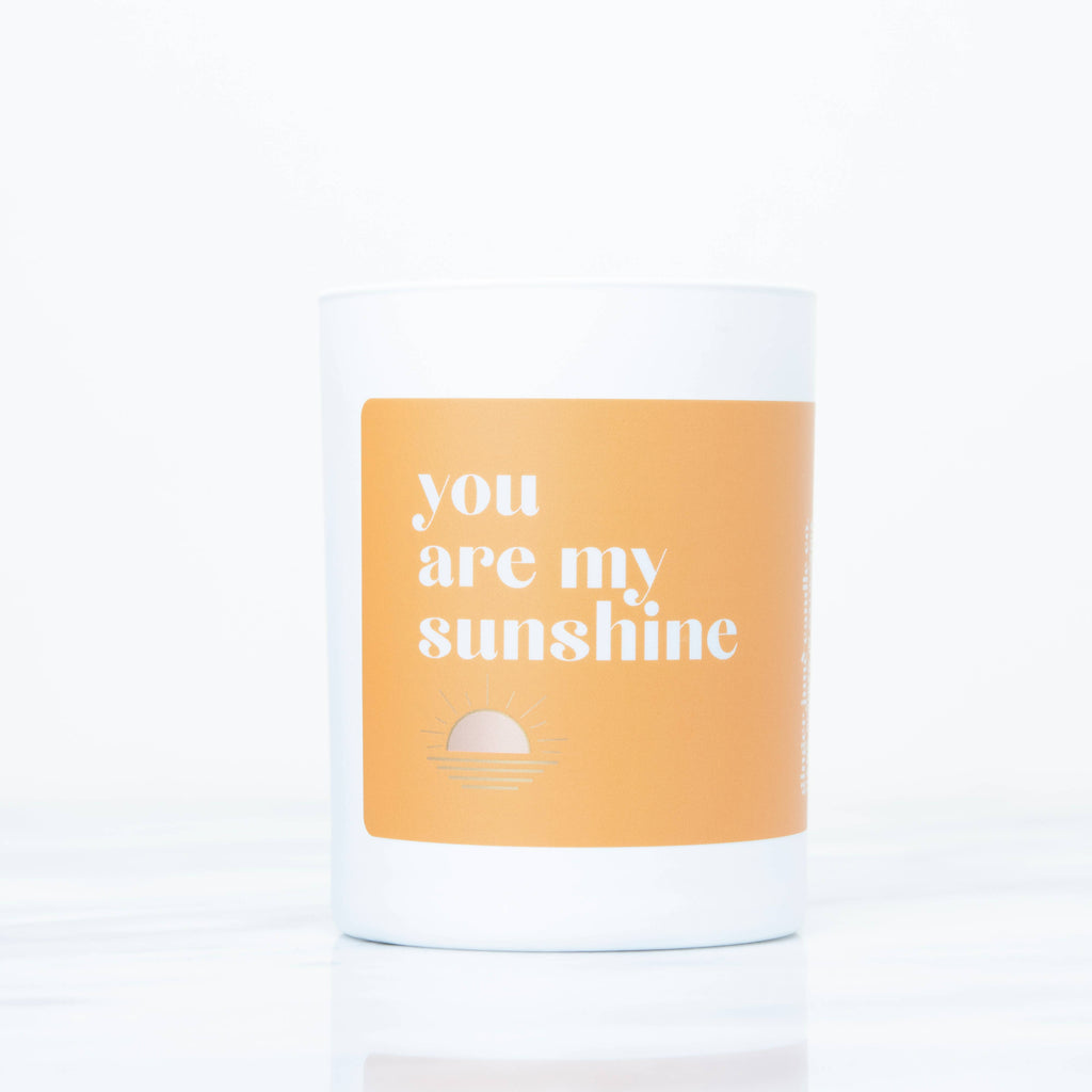 You're My Sunshine Candle
