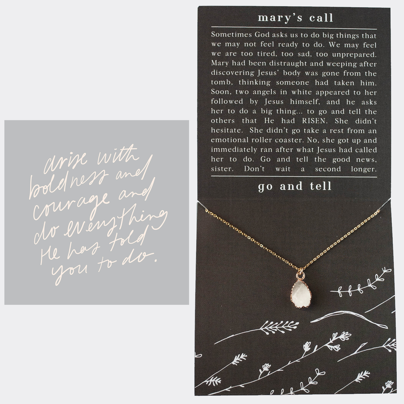 Mary's Call Necklace