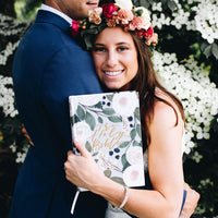 ESV Wedding Guest Book Large Print Bible