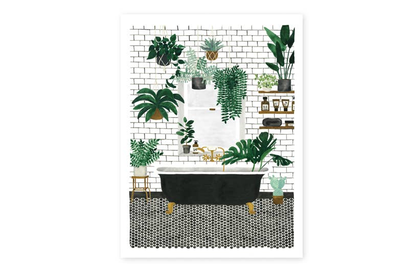 Bathroom Print