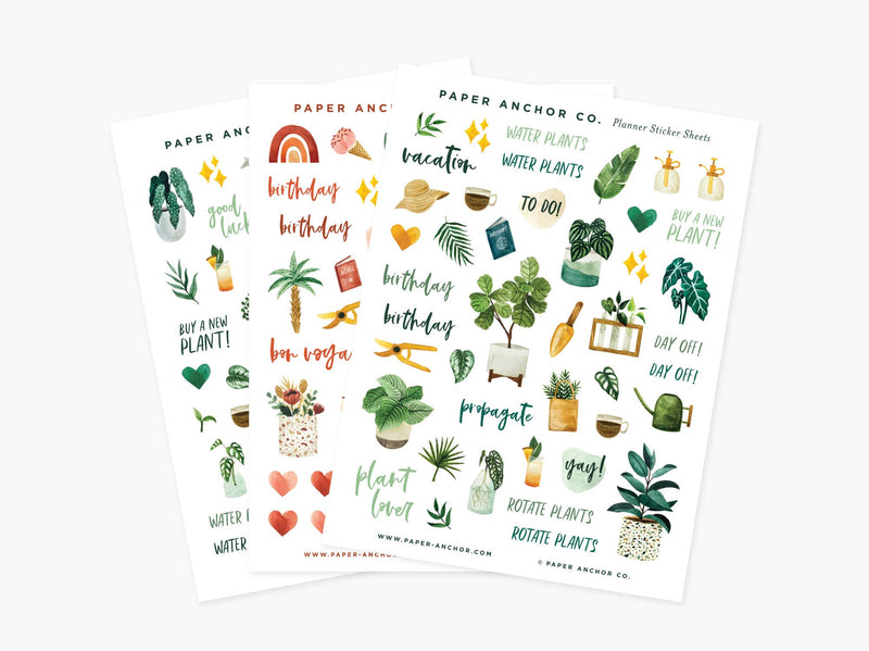 Lover Planner Sticker Sheets