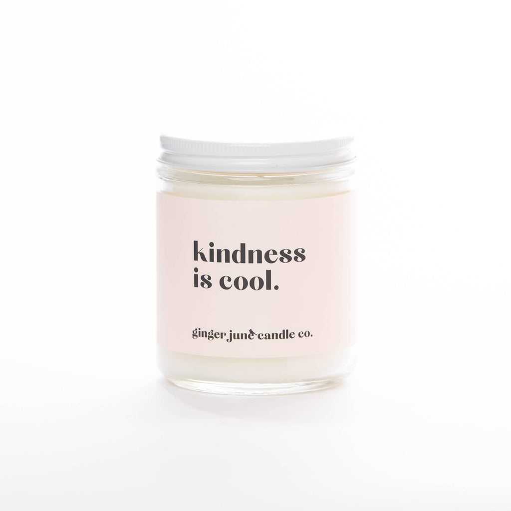 Kindness is Cool Candle - Coconut Vanilla