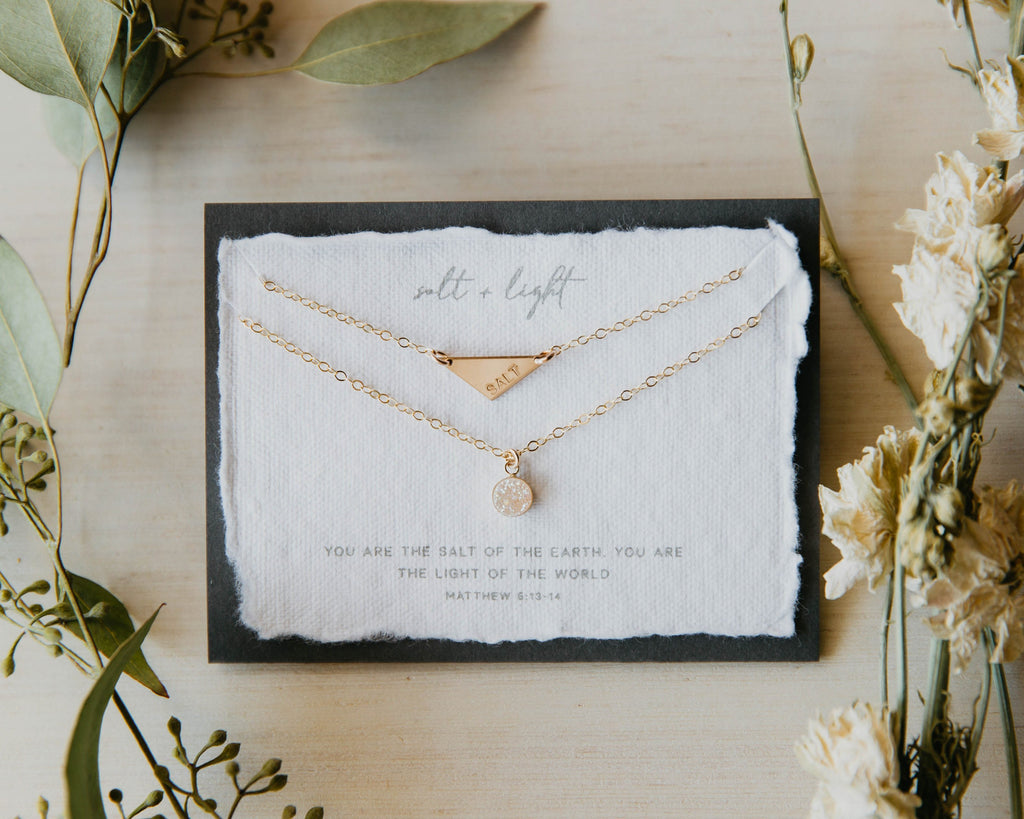 Salt + Light 14kt Gold Filled