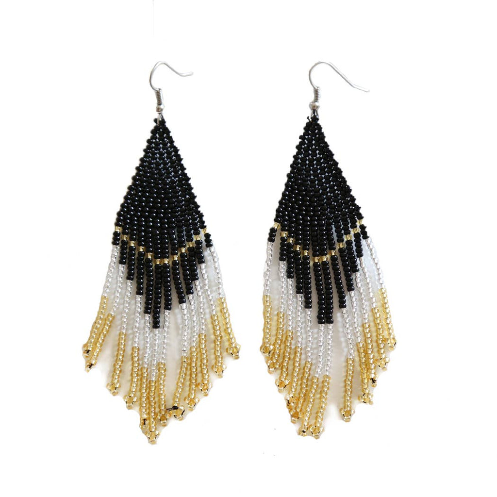 Caviar Beaded Earrings