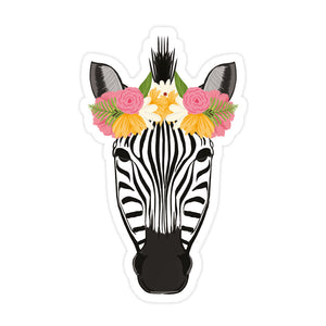 Pretty Zebra Sticker