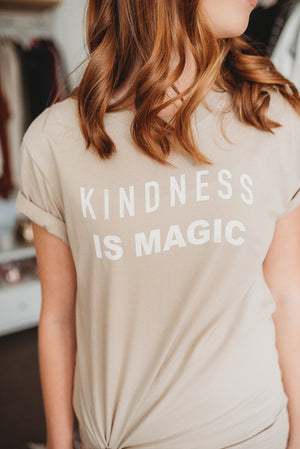 Kindness is Magic- Stucco Tee