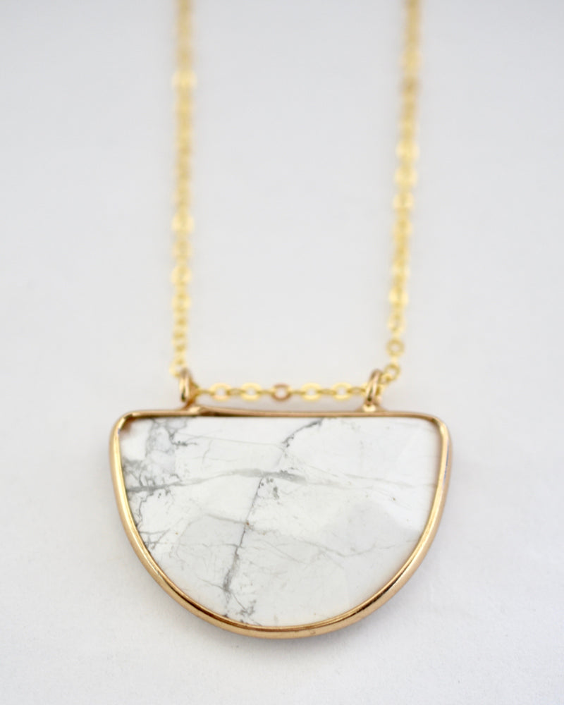Marble Olivia Necklace
