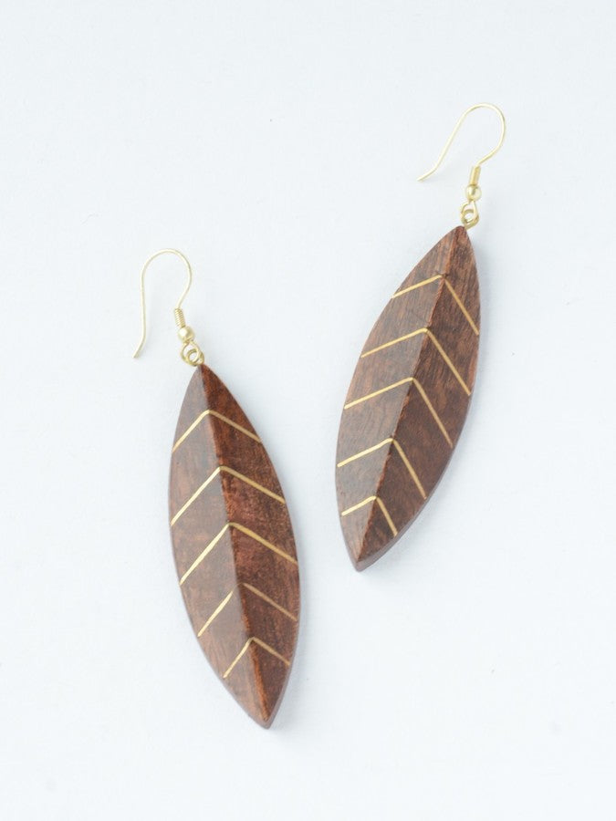 Shesham Wood Earrings