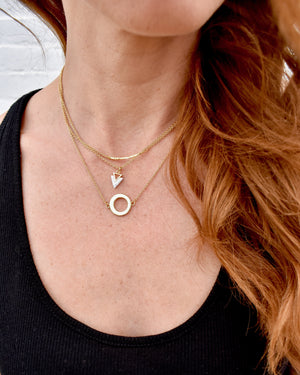 Dainty Marble Conquerer Necklace