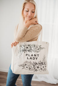 Plant Lady Tote Bag
